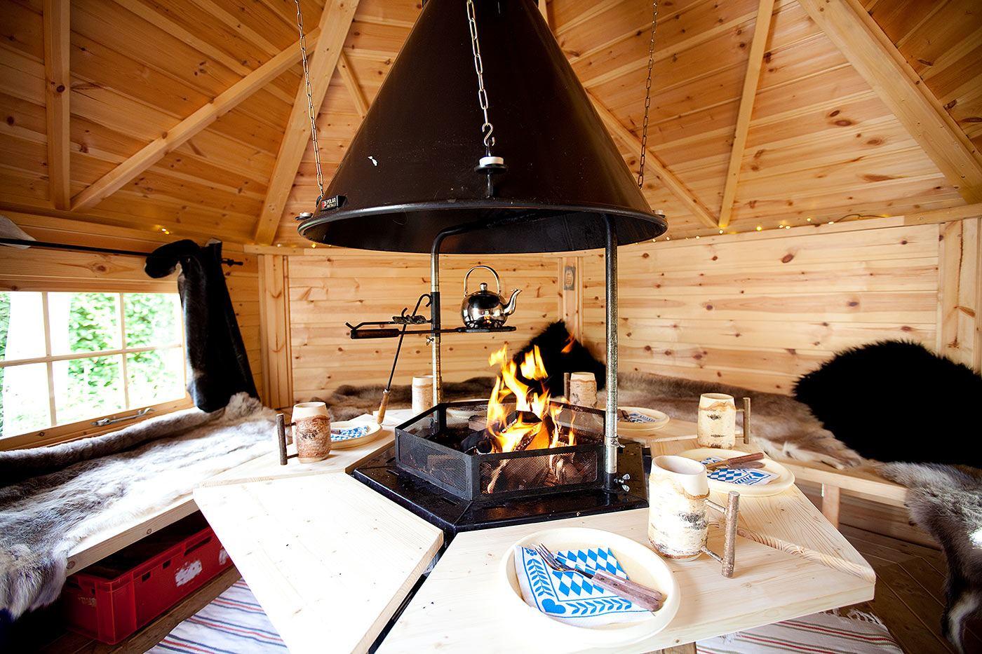 """grillhütte - feiern in der """"grill kota"""""""